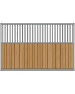 Grilled Panel Partition