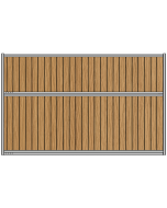 Solid Panel Partition